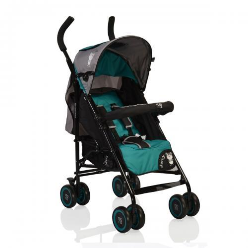 Moni Детска Лятна количка Jerry зелена